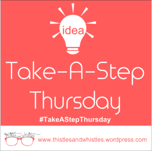 #1 Take-a-step Thursday: smile!